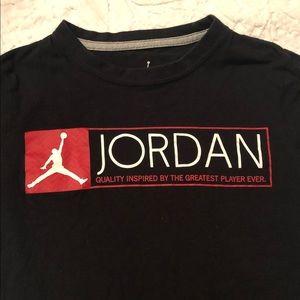 Jordan Shirts & Tops - Jordan Boy's Short Sleeve T-Shirt, GUC, Med, $8